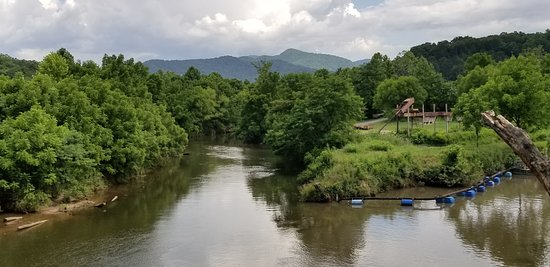 Franklin, NC: View from Tassee Bridge
