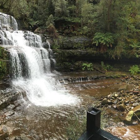 Amazing walk with waterfalls