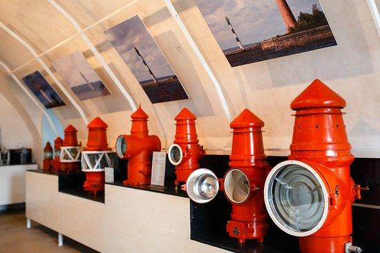Kronshtadt, Russia: маячные аппараты
