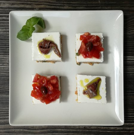 cheesecake di burrata