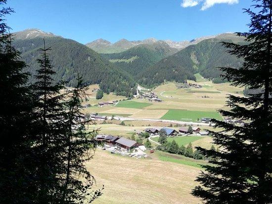 Percorso del Bue a S. Maddalena/Val Casies