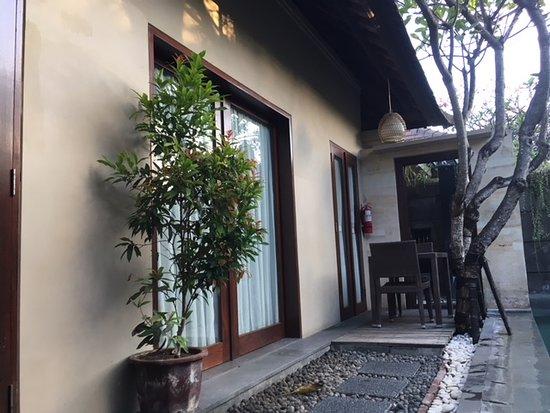Lots Of Big Open Doors And Natural Light Inside The Villa Picture Of Nyuh Bali Villas Seminyak Tripadvisor