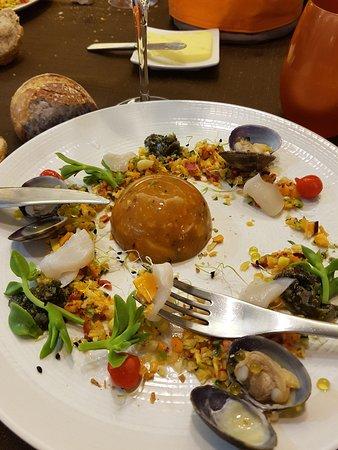 Lezardrieux, Франция: dôme légumes coquillages crustacés
