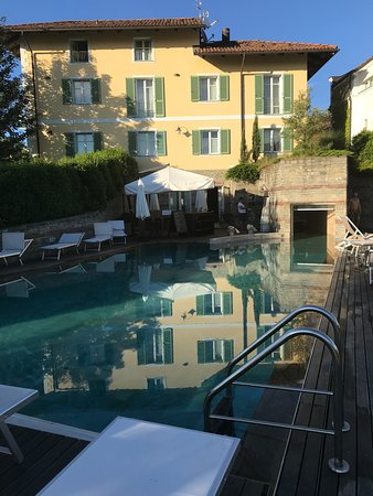 A picturesque hotel in the Langhe hills.