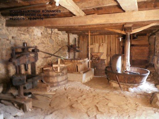 Saint-Andre-de-Najac, Frankreich: Le moulin à huile de noix