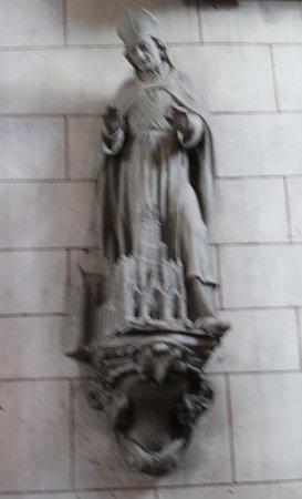 Vue intérieure de l'église de Dieulouard
