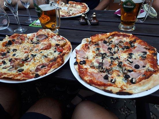 Lazne Belohrad, جمهورية التشيك: Pizzy dle naší chuti