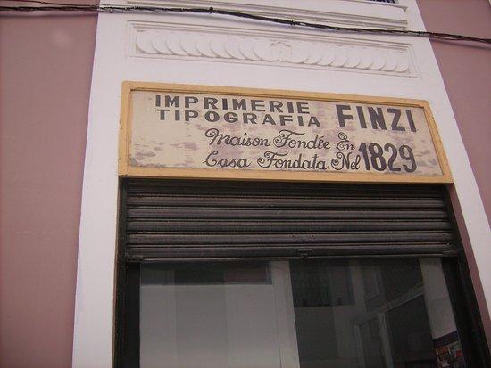 Imprimerie Tipografia Finzi