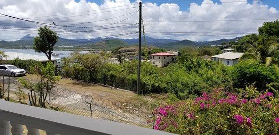 Praslin Quarter, Sta. Lucía: View from balcony