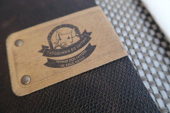 Tasquinha Do Leitao: dettaglio del menù