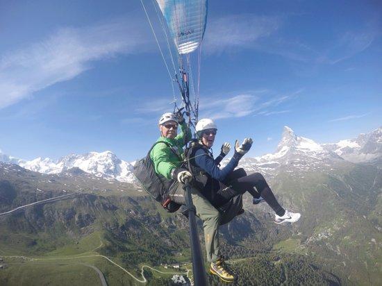 Tandem Paragliding Zermatt