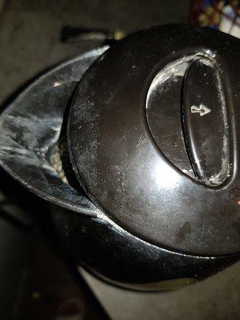 Scrayingham, UK: kettle