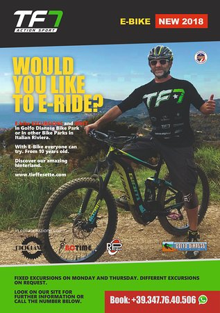 TF7 Action Sport: E-bike Golfo Dianese Bike Park
