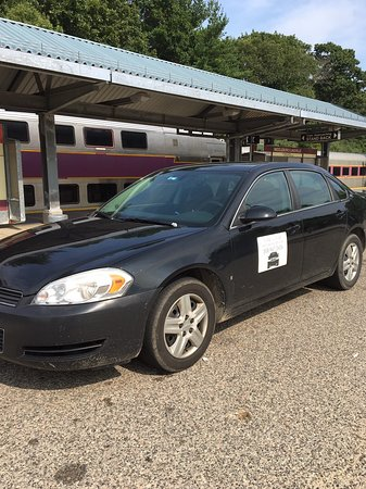 Middleboro Superior Taxi at commuter rail station