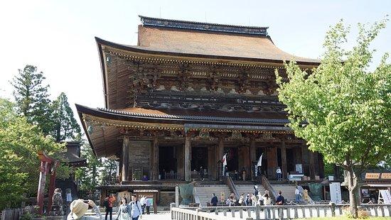Yoshino-cho, Japan: 世界遺産・国宝・蔵王堂。