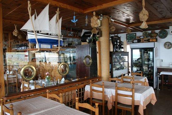 Restaurante Esplanada Furnas: Decoración