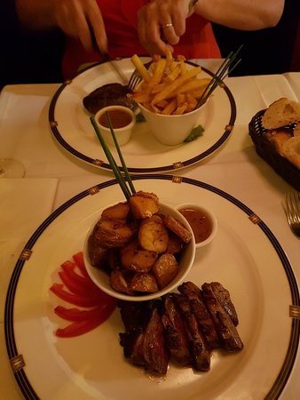 Great food we had our 25th anniversary dinner here very romantic and the staff where great as my