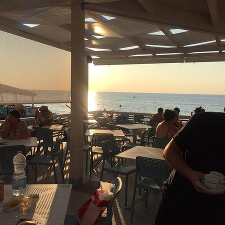 Perfect sunset drinks