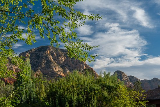 The Suites at Sedona B&B: View from the deck