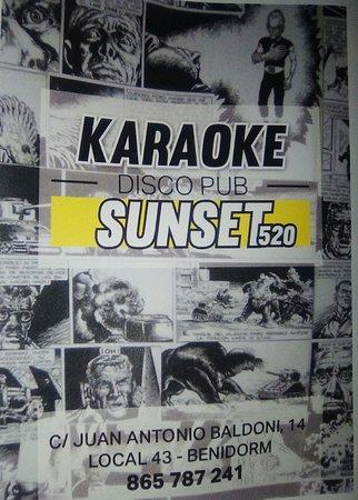 Karaoke Sunset 520