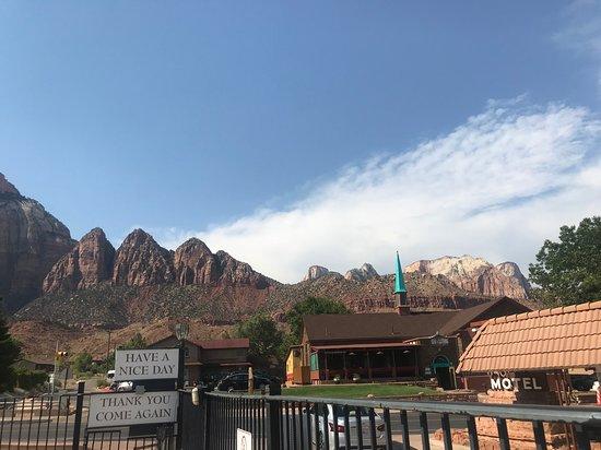 Zion Park Motel Picture