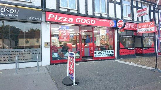 Pizza Gogo Poole Menu Prices Restaurant Reviews