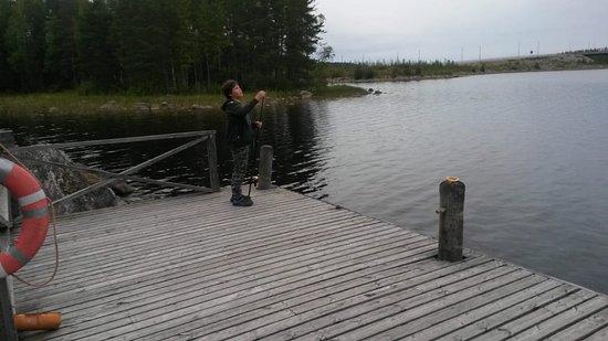 Viitasaari, Finland: ловим рыбку