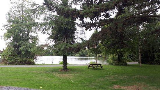 York Lakeside Lodges: Lake view