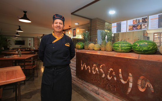 Masaya Bistro : Chef Masaya Quito