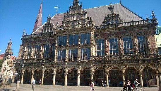 Hôtel de ville de Brême (Rathaus) : Ратуша Бремена