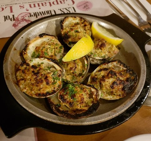 Our Clams Casino Delicious Picture Of Uss Chowder Pot Iii Branford Tripadvisor