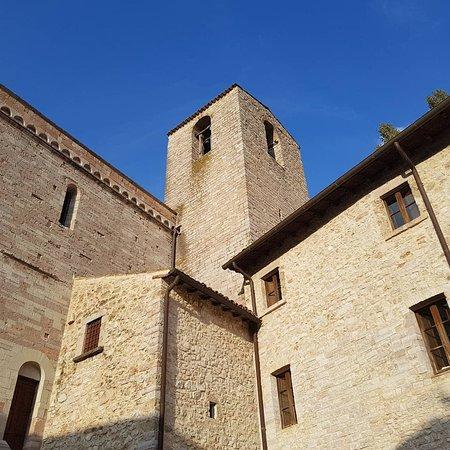 Sant'Anatolia di Narco, Italia: L'abbazia dei Santi Mauro e Felice é un luogo che ti fa una carezza all'anima.