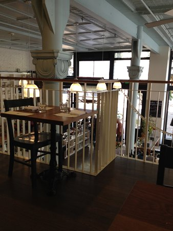 The London Plane: From the upstairs dining room