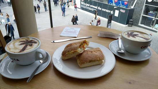 Costa Coffee Birmingham Menu Prices Restaurant Reviews