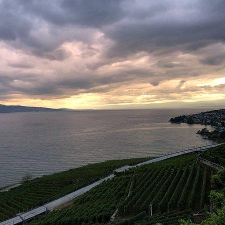 Auberge de la Crochettaz: Just the view