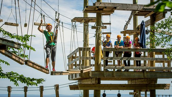 Blue Mountains, Canada: Timber Challenge High Ropes Course