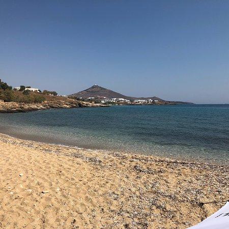 Marpissa, Grecja: La spiaggia di mesada, di prima mattina