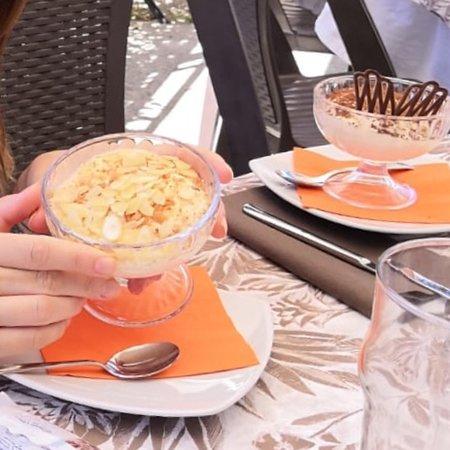 Pigra, Италия: Tiramisù al limoncello fatto in casa