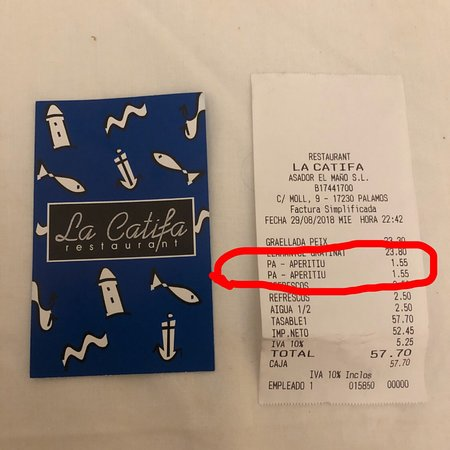 Restaurant la Catifa: photo0.jpg