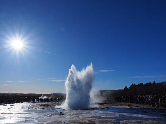 Stop in Iceland: Geysir