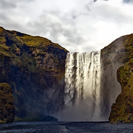 Stop in Iceland: Waterfall