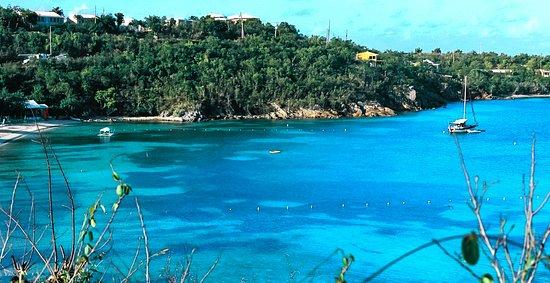 Water Island, St. Thomas: Honeymoon Beach