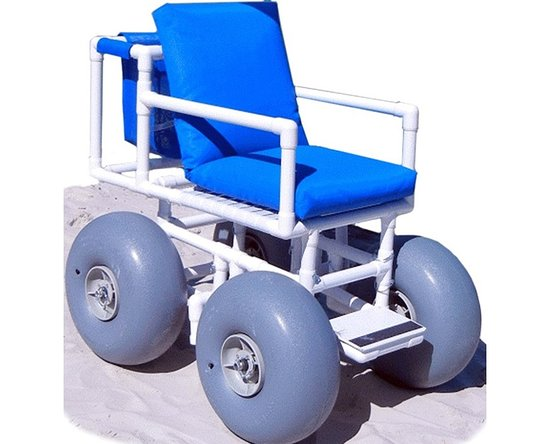 Handicap Travelers Dr Pvc Beach Wheelchair Weight Support Up To 280 Pounds
