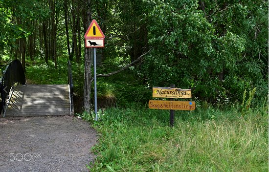 Bodafors, Szwecja: Naturslingan vid Emån