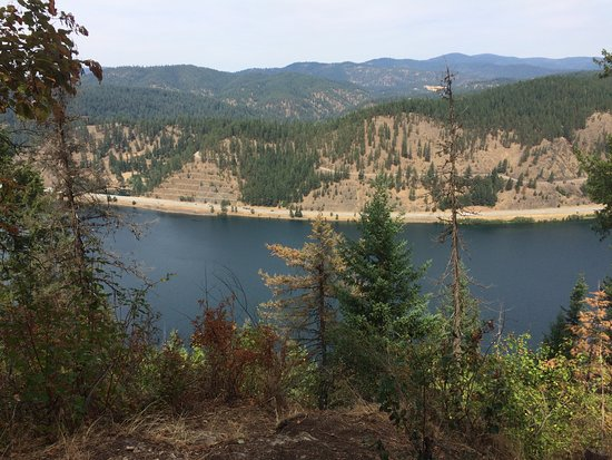 Mineral Ridge National Recreation Trail: View from the top