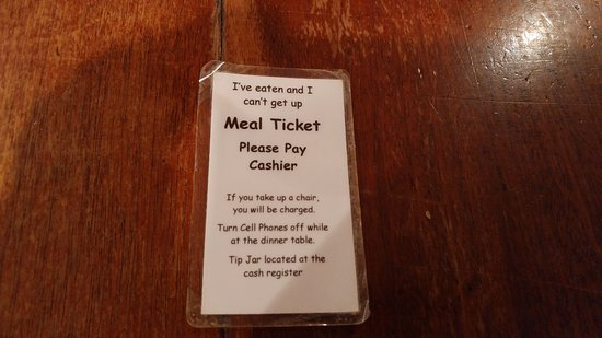 Monell's Dining & Catering: Meal Ticket