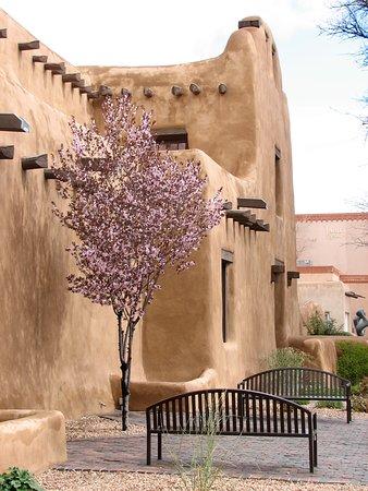 Santa Fe Plaza: Beautiful Adobe Architecture