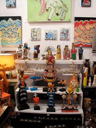 Santa Fe Plaza: Shops Full of Artwork