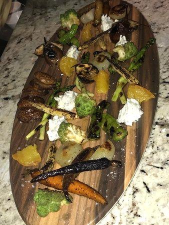 Cuba Libre Restaurant & Rum Bar: Grilled veggies