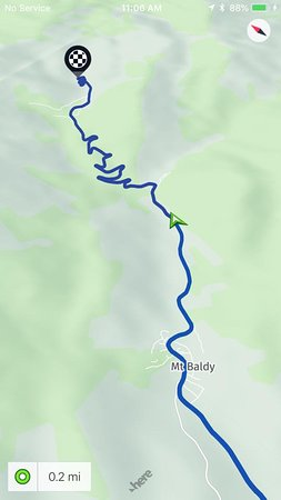 Mount Baldy, Калифорния: Fun ride to Mt. Baldy